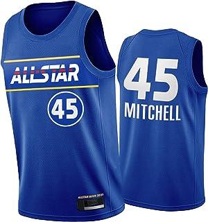 FGNB #30 Knicks Randle #34 Bucks Antetokounmpo #45 Jazz Donovan Jersey, 2021 New Season All-Star Breathable Basketball Jer...