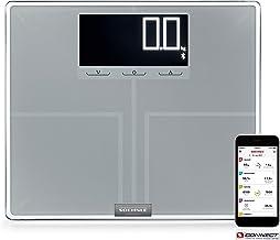 Soehnle Báscula digital Shape Sense Connect 200 con Bluetooth, balanza digital de análisis corporal, peso de baño para calcular la demanda calórica