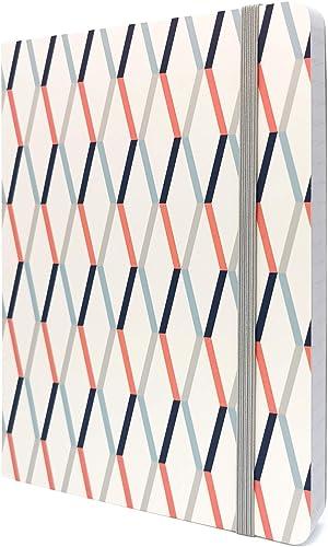 Tabitha Wilde A5 Carnet Ligné/Journal Intime 240 pages Couverture Souple avec Pochette