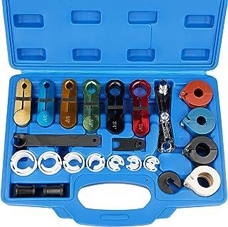 Thorstone Kit de ferramentas de desconexão rápida de 22 peças para desconexão de linha de combustível, linha de resfriador...