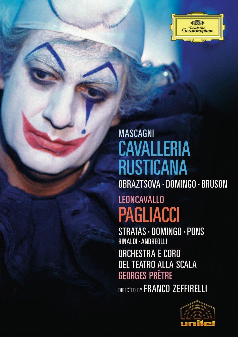 Leoncavallo - I Pagliacci Rusticana Do Mascagni Cavalleria Translated Super intense SALE