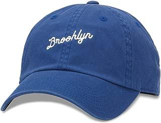 Brooklyn Board Shorts Slouch Adjustable Strapback Hat Blue