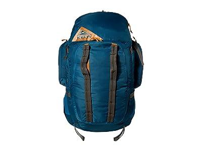 Kelty Redwing 50 (Lyons Blue/Golden Oak) Backpack Bags