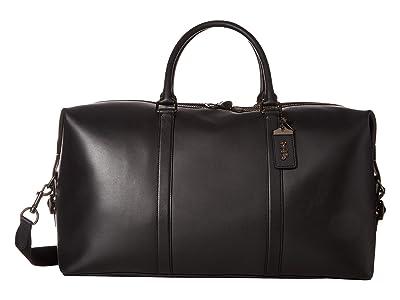 COACH Metropolitan Duffel 52 (JI/Black) Handbags