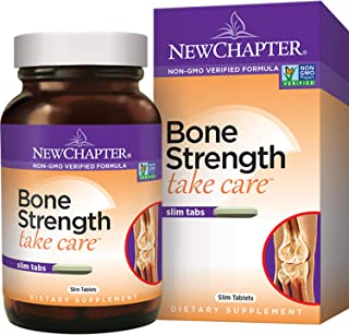 New Chapter Bone Strength Take Care 180 Slim Tabs