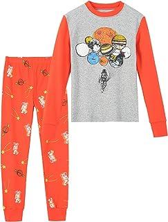 Boys Pajamas Toddler Kids 100% Cotton Pjs Set Sleepwear...