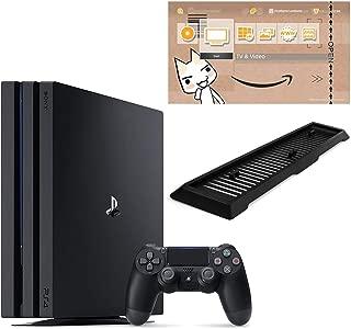 PlayStation 4 Pro ジェット・ブラック 2TB (CUH-7200CB01)【Amazon.co.jp限定】アンサー 縦置きスタンド付 & オリジナルカスタムテーマ (配信)