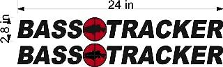 Bass Tracker Boats Logo/Pair / 24