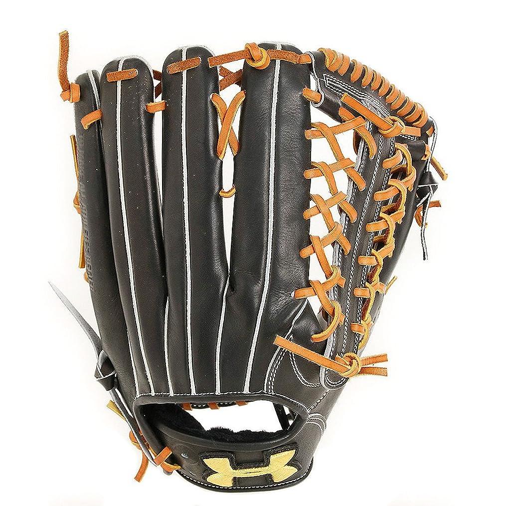 木材順応性のある笑アンダーアーマー 野球 硬式グラブ 外野手用OB7 QBB0023