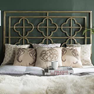 Safavieh Home Collection Lucina French Silver Headboard, King