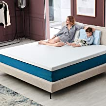 King Size Mattress, Molblly 12 inch Cooling-Gel Memory Foam Mattress in a Box, Breathable Bed Mattress with CertiPUR-US Certified Foam for Sleep Supportive & Pressure Relief, 10 Year Warranty