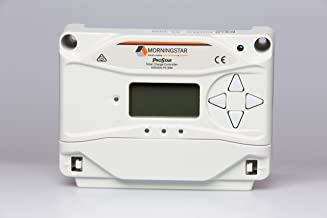 Morningstar ProStar 30-amp, 12-24-volt Solar PWM Charge Controller with Meter - PS-30M