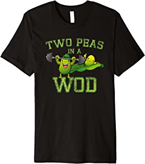 Two Peas in a WOD T-shirt