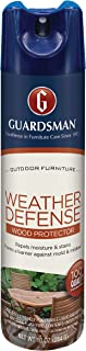 Guardsman Weather Defense Outdoor Wood Furniture Protector - 10 oz - Repels Moisture and Stains - 461900
