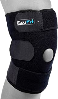 EzyFit Knee Brace Support for Arthritis, ACL, LCL, MCL, Sports Exercise, Meniscus Tear..