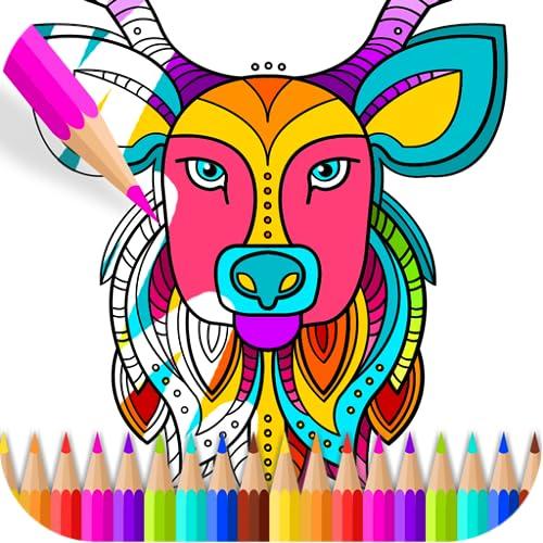 Livro para colorir de família