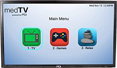 """$592 Get PDi medTV 32"""" Smart Healthcare-Grade A-Series Pro:Idiom Hospital HDTV LED Patient Television. (Replaces PDi E-Series TVs, PDI-E32LED). Includes Standard Wall Mount PD168-051."""