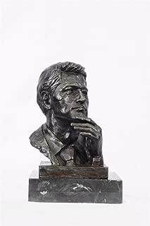 Handmade European Bronze Sculpture Signed Original President Clinton Oval Office Figurine Hot Cast Bronze Statue -UKXN-1238-Decor Collectible Gift