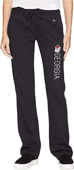 Georgia Bulldogs University Fleece Open Bottom Pants