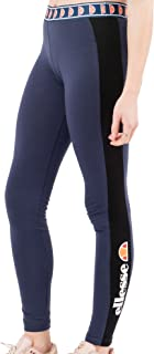 PrettyFashion Leggings Taille Haute Pleine Longueur Bleu Marine, X-L Tailles Grandes