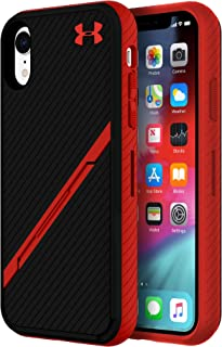 Under Armour UA Protect Kickstash Case for iPhone XR - Black/Red