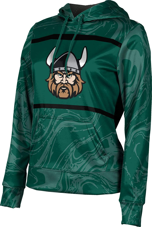ProSphere Cleveland State University Girls' Pullover Hoodie, School Spirit Sweatshirt (Ripple)