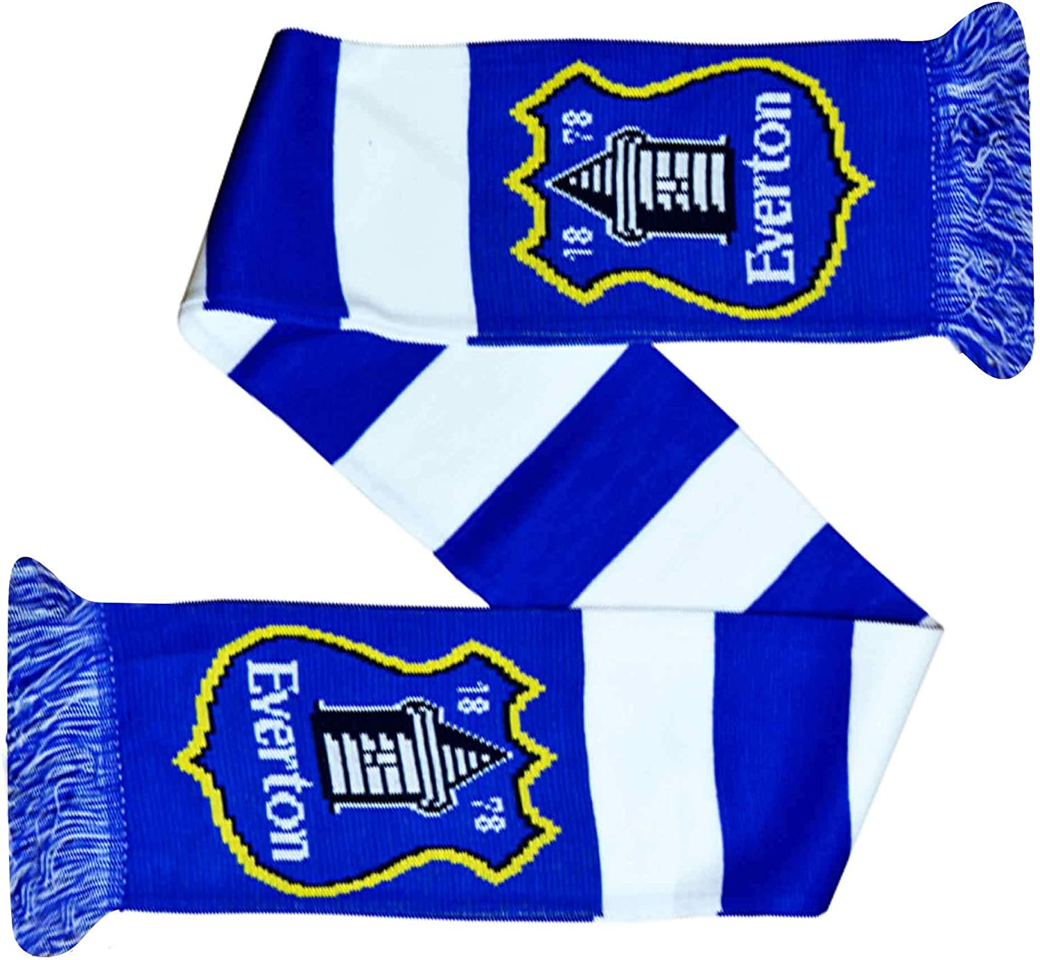Everton Official FC Football Crest Indefinitely 5 ☆ very popular Acrylic Bar Scarf 100% Fans