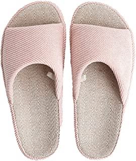 SalLady House Slippers Open Toe Thickened Breathable Universal Home Slippers Quiet Casual Hotel Sandals