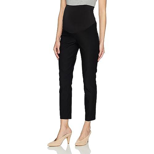 dfe70bd858526 Three Seasons Maternity Women's Maternity Slim Fit Ankle Dress Pant