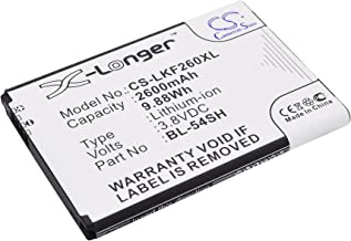 Cameron Sino Replacement Battery for LG Bello 2, Bello 2 Dual, D331, D373, D405N, D410, D722, D722K, D724, D725, D728, D729, D800, D802 (2600mAh)