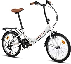 Moma Bikes Bicicleta Plegable Urbana SHIMANO FIRST CLASS 20&
