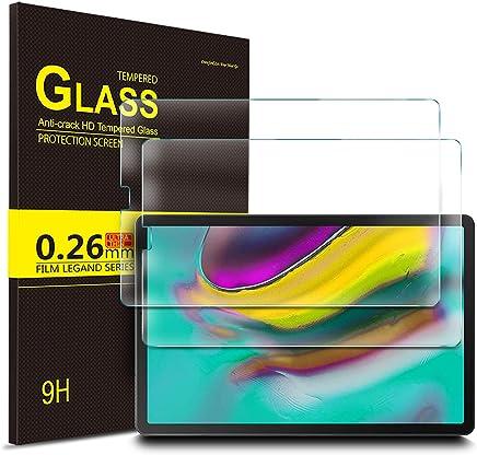 IVSO Pellicola Protettiva per Samsung Galaxy Tab S5e 2019 10.5, Pellicola Protettiva Schermo in Vetro Temperato per Samsung Galaxy Tab S5e 10.5 T720/T725 2019, 2 Pack