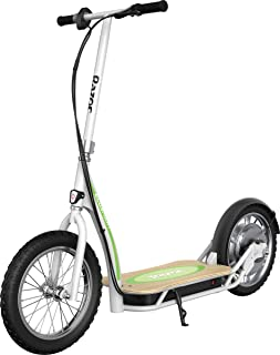 """Razor EcoSmart SUP Electric Scooter – 16"""" Air-Filled Tires, Wide Bamboo Deck, 350w High-Torque Hub-Driven Motor, Up to 15...."""