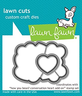 Lawn Fawn Cut Set - How You Bean? Conversation Heart Add-On