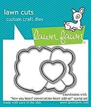 Lawn Fawn Lf1554 How You Bean? Conversation Heart Add-on Custom Craft Die Set