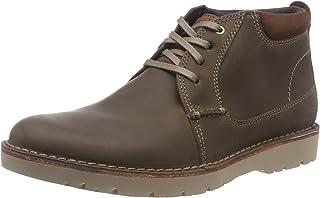 Clarks Vargo Mid, Zapatos de Cordones Derby Hombre