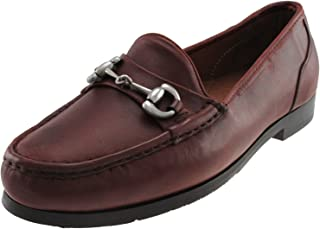 David Spencer Shoes - Landry Leather Driver Loafers with Horsebit