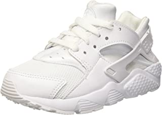 Nike Huarache Little Kids Running Shoes White/Pure Platinum 704949-110 (2 M US)
