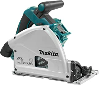 Makita DSP600ZJ (36V) Twin 18V Li-Ion LXT Brushless 165mm Plunge Cut Saw Supplied In A Makpac Case - Batteries And Charger...