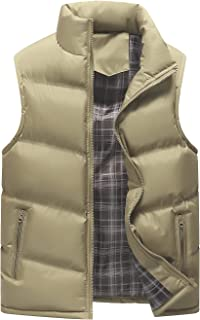 Men's Lightweight Active Quilted Padding Puffer Vest Winter Warm Gilet