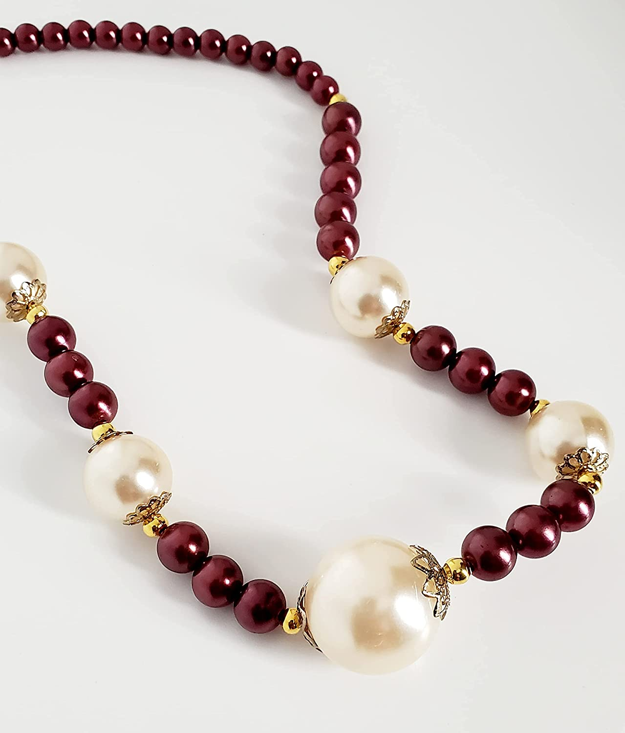 Glass Max 65% OFF Brand new beaded necklace