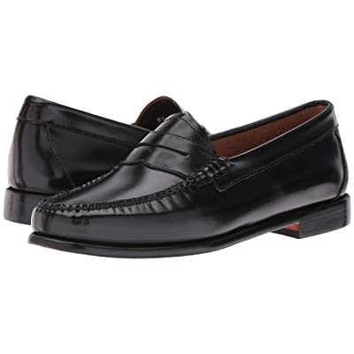 G.H. Bass & Co. Whitney Weejuns (Black Box Leather) Women
