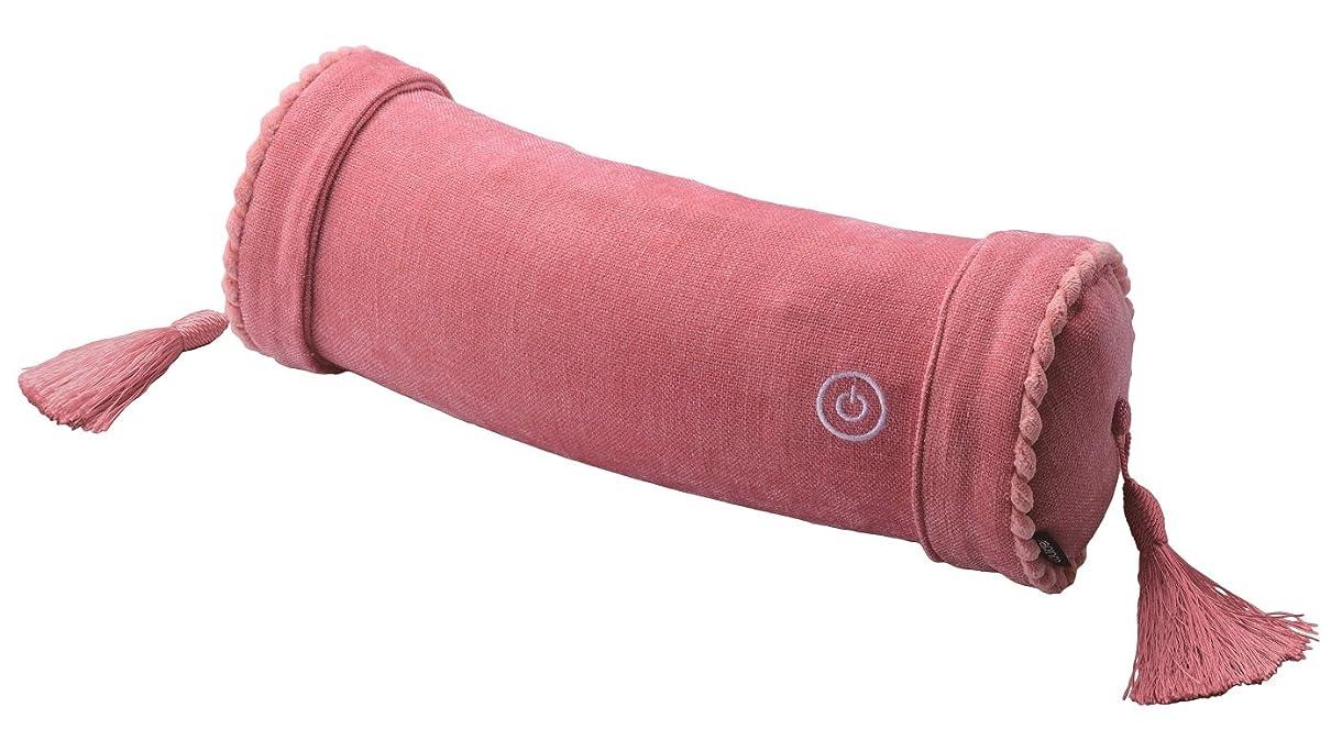 ホバート哲学者国内のアテックス ルルド マッサージロールクッション ピンク AX-HXL186pk