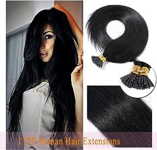 Best keratin tip human hair extensions Reviews