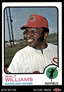 1973 Topps # 297 Walt Williams Cleveland Indians (Baseball Card) Dean's Cards 5 - EX Indians