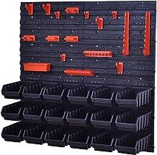 Stapelboxen gereedschapswand 18 dozen montagegewand maat 2L