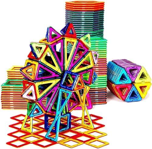 Magnetic piece building block Blocs de Construction de pièces magnétiques Puzzle magnétique Jouets pour Enfants Aihommet Aihommet Pierre Garçon 3-6-10 Ans Boîte de RangeHommest de pièce magnétique Pure