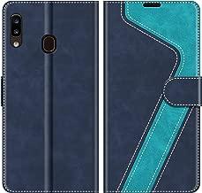 MOBESV Custodia Samsung Galaxy A20e, Cover a Libro Samsung Galaxy A20e, Custodia in Pelle Samsung Galaxy A20e Magnetica Cover per Samsung Galaxy A20e, Elegante Blu
