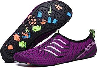 IGZNTTYD Waterschoenen voor dames en heren, blote voeten, sneldrogend, voor strand, surfen, zwemmen, uniseks.