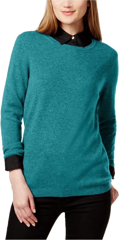 Charter Club Womens Cashmere Luxury Knit Sweater
